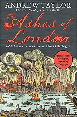 Ashes of London book cover