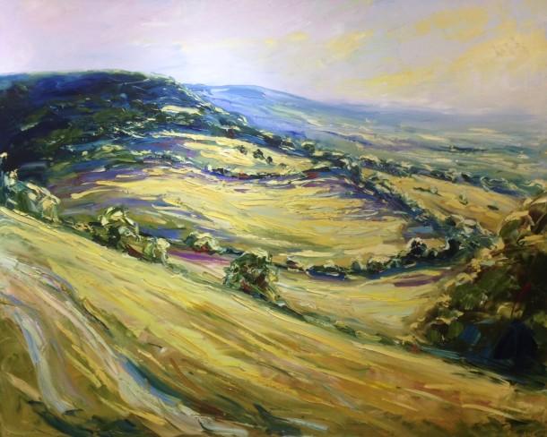 Rupert Aker painting