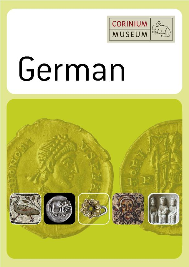 A short guide to Corinium Museum in German