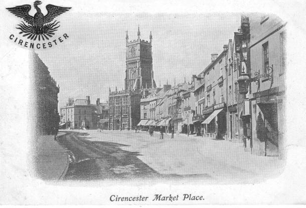 Cirencester Postcard