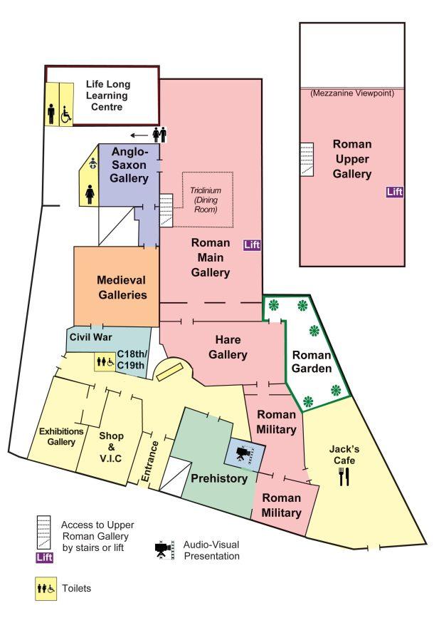 Corinium Museum Floor Plan