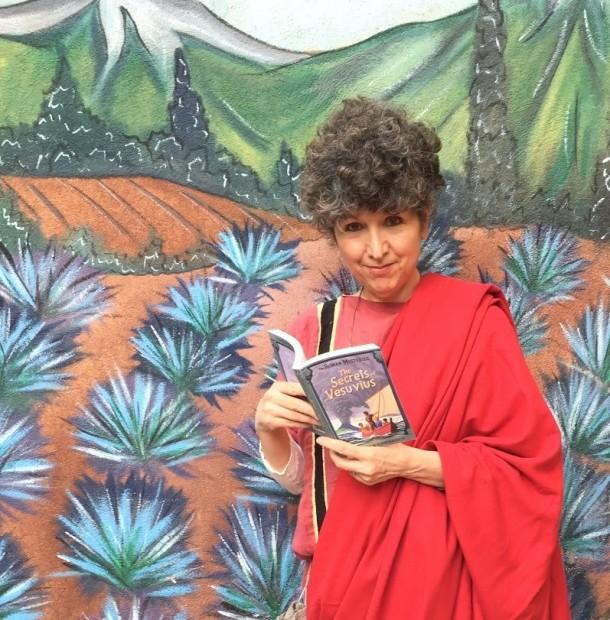 Author Caroline Lawrence