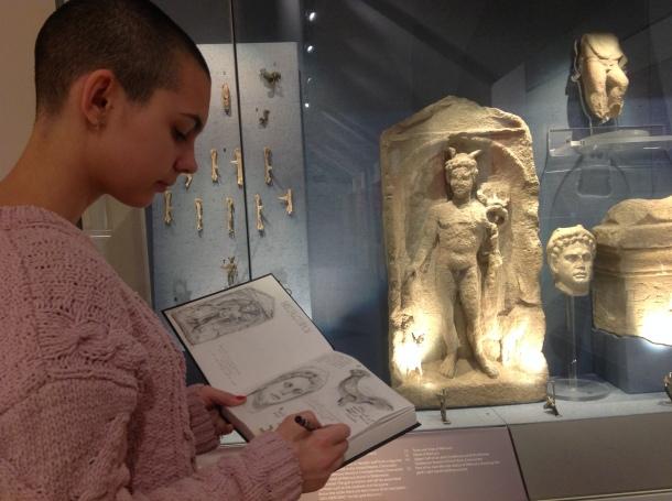 Ana Volunteering at Corinium Museum